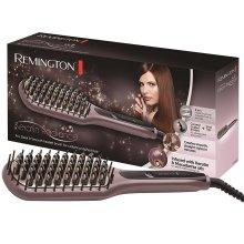 Remington Keratin Radiance Ceramic Straightening Hair Brush Sleek&Smooth, CB7401