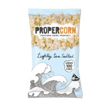Propercorn  Propercorn - Lightly Sea Salted 20g x 24