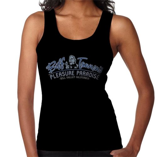 Back To The Future Biff Tannens Pleasure Paradise Women's Vest