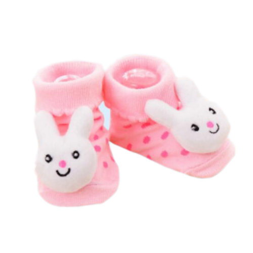 3 Pairs Non-slip Newborn Baby Boy Girls Toddler Socks Warm Non-skid Stockings Baby Gift For 6-12 Month Baby-A01