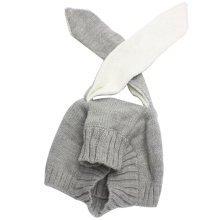 Baby Boys Girls Keep Warm Head Cap Winter Hats Knitted Hats Rabbit Ears Hat-A3