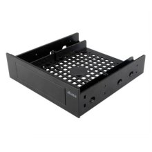 """Akasa Front Bay 3.5"""" Device Adapter, Frame to Fit 3.5"""" device/SSD/HDD into a 5.25"""" Bay"""
