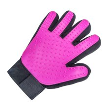 Pet Grooming Gloves Brush Efficient Pet Hair Remover Mitts Massage Tools