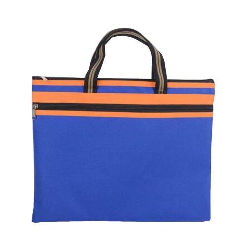 Portable Document Bag Canvas Information Bag Creative Student School Bag [D]