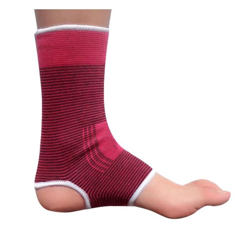 1 Pair Warm Ankle Support Men Women Foot Support Free Size RED