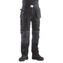 Buckler Buckskinz Work Trousers with Premium Black Stretch Belt (Various Sizes)
