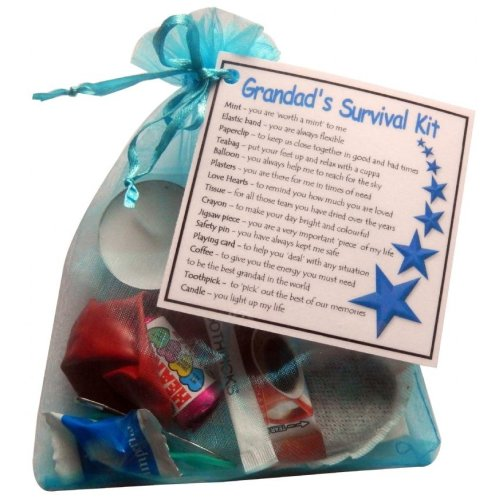 Grandad's Survival Kit Gift - Great present for Birthday, Christmas or just because ...