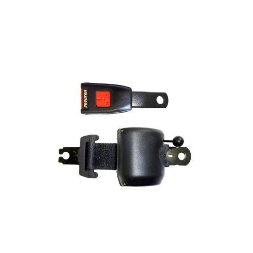 Seat Belt - Retracting & MU Lap - Black