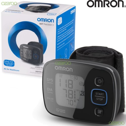 Omron MIT Precision 5 Wrist Blood Pressure Monitor Irregular Heartbeat Detection