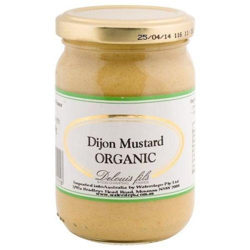 Delouis Dijon Mustard - Organic   200g