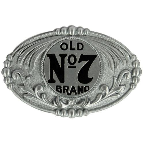 Jack Daniels Oval No7 Belt Buckle