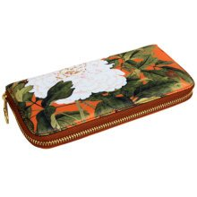 Chinese Style Characteristic Purse Silk Pouch Wallet Cash Holder, G