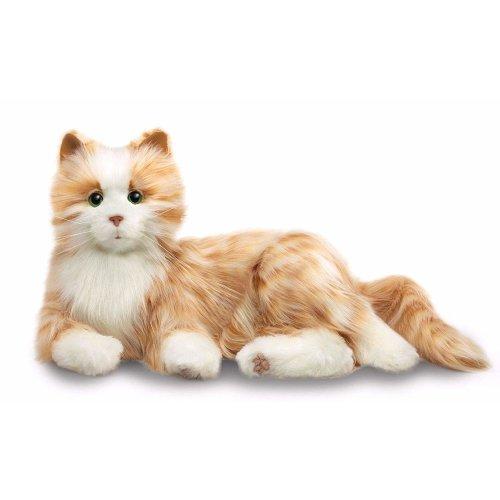 Joy For All Orange Tabby Cat Companion Pet