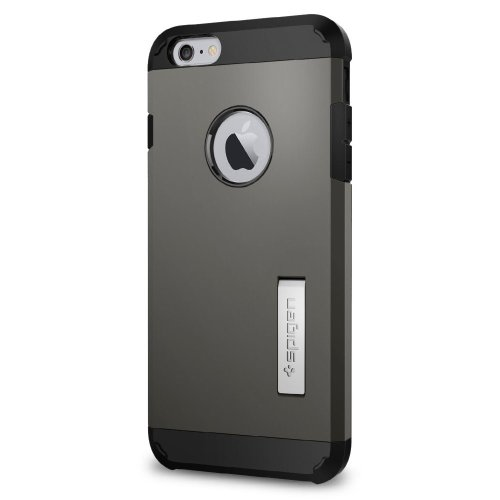 5aae7e92aec Spigen Extreme Protection Tough Armor Case for Apple iPhone 6 Plus/6S Plus  - Gunmetal on OnBuy