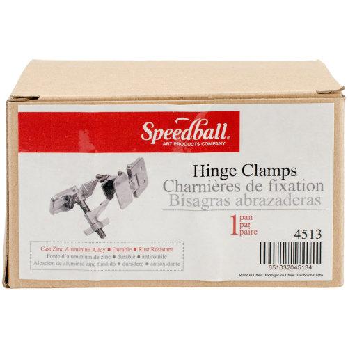 Speedball Hinge Clamp Pair For Screen Printing-