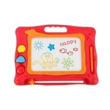 Magnetic Drawing Board Erasable Colorful Kids Writing Sketching Pad