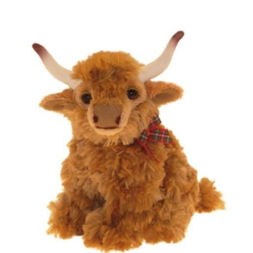 "Highland Cow soft and cuddly 12"" toy"