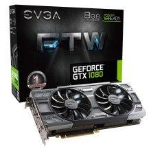 EVGA 8Gb GeForce GTX 1080 FTW ACX 3.0 PCIe3.0 VGA Card