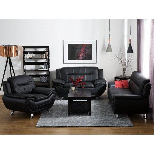 2 Seater Leather Sofa LEIRA