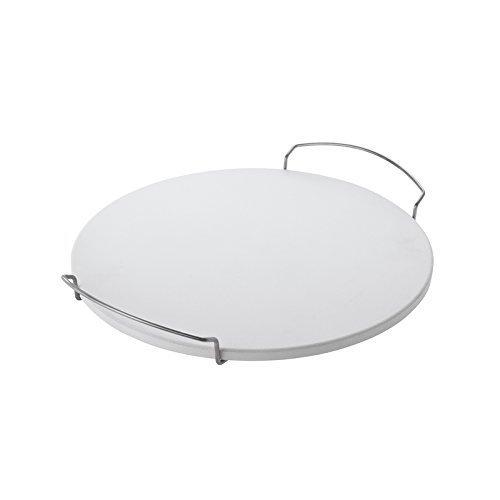 RÖSLE 25074 Round Pizza Stone, White, 16-Inch