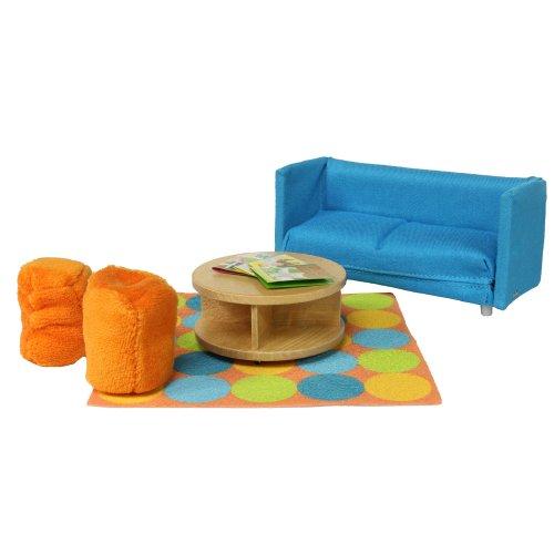 Lundby 1:18 Scale Dolls House Smaland Sofa Bed Set