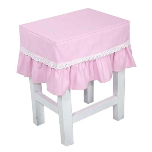 Canvas Stool Cover Makeup Stool Cover Pink