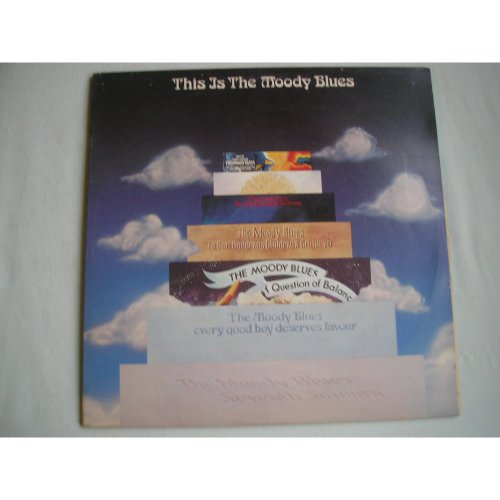 MOODY BLUES This Is..(best of) double LP g/fold sleeve 1974 ex/ex