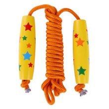 "Wood Handle Rope Skipping For Kid Jump Rope(98.43"")"