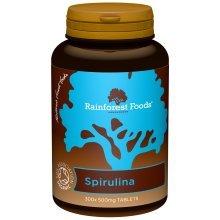 Rainforest Foods Organic Spirulina Tablets 500mg Pack of 300