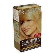 Revlon ColorSilk Beautiful 04 Hair Color, Ultra Light Natural Blonde PACK OF 3