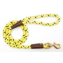 Mendota Pet Snap Leash, 1/2 x 6, Hi-Viz Yellow