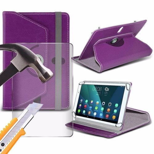 2876acaaa Itronixs - Acer Iconia One 10 (b3-a10) (10.1 Inch) Tablet Case Premium Pu 360  Rotating Leather Wallet with Tempered Glass Lcd Screen Protector Guard on  ...