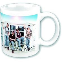 Jls - Heaven Mug -  jls beach house hut photograph image white coffee mug cup boxed official gift