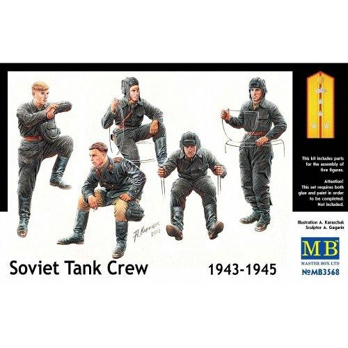 Mas3568 - Masterbox 1:35 - Soviet Tank Crew 1943-1945