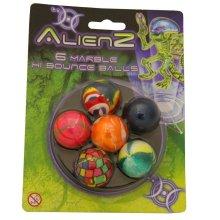 Alienz New Bouncy Balls hi-bounce Party Bag Favor Stocking Filler Childrens KIDS