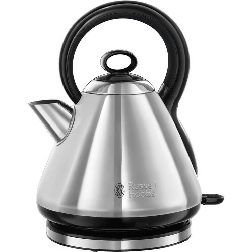 Russell Hobbs 21887 Legacy Quiet Boil Electric Jug Kettle - 1.7 L 3000W - Silver