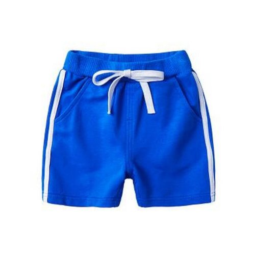 Baby Boy Short Pants Cute Short Pants for Summer Suitable for 130cm [A]