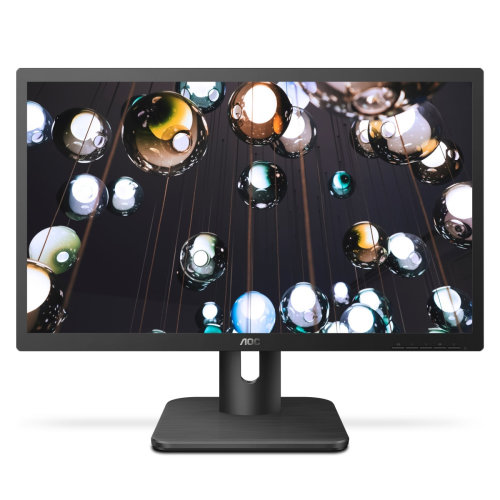"AOC Essential-line 22E1D computer monitor 54.6 cm (21.5"") Full HD LED Flat Matt Black"