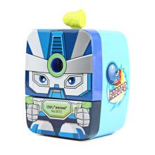 Cute Warrior Manual Pencil Sharpener for Office and Classroom ( Blue )