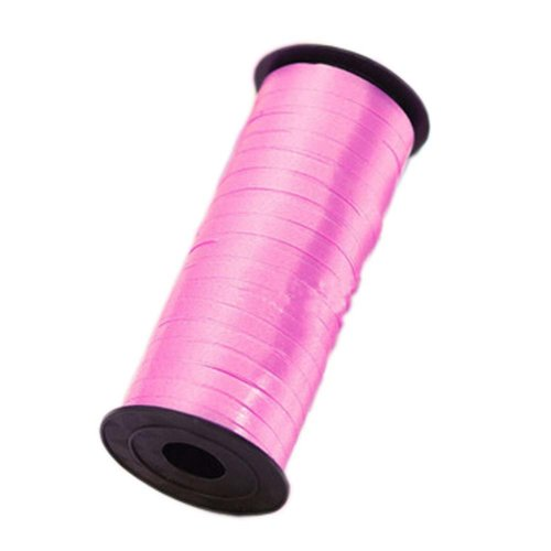2 Pcs Party Decorative Supplies 100 yds Balloon Curling Ribbons, Pink