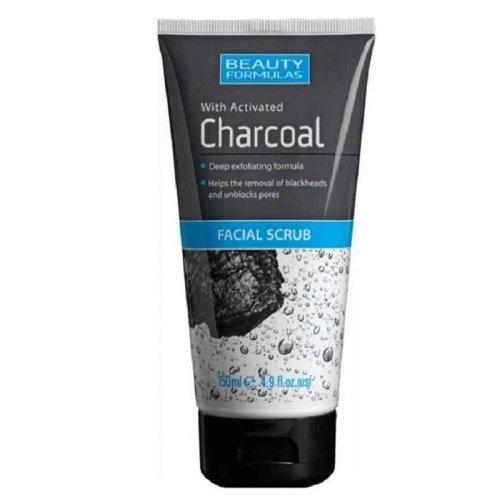 Beauty Formulas Charcoal Facial Scrub 150ml