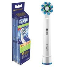 Genuine Original Official Oral-B CrossAction Electric Toothbrush Replacement Brush Head (Individually Wrapped with No Main Outer Retail Packaging)