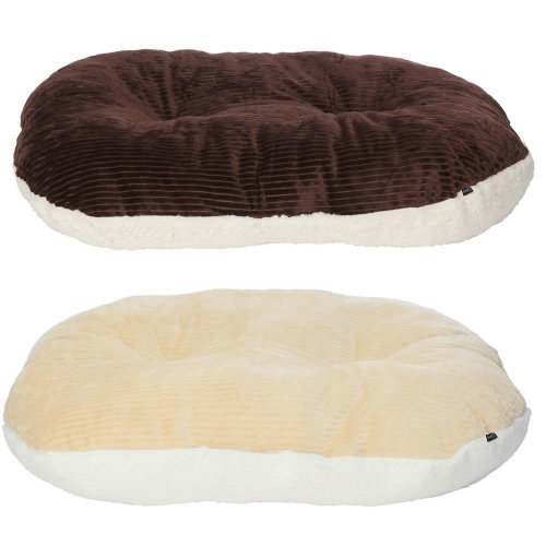 Chester Oval Fleece Dog Bed