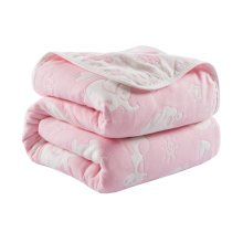 Cotton Baby Blankets Summer Quilt for Toddlers 110 X 110 CM - A4