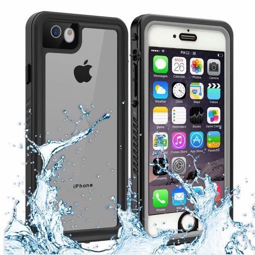 new arrival 17cf2 09ed5 Owkey iPhone 6/6S Waterproof Case, Underwater Protective Cover ...