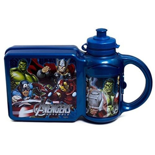 Avengers Lunch Box & Bottle Set
