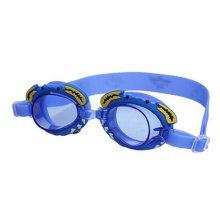 Lovely Crab Children Waterproof Anti-fog Goggles Swimming Goggles,Dark Blue