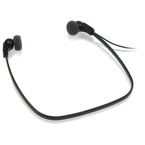 Philips LFH0334 Intraaural Neck-band Black