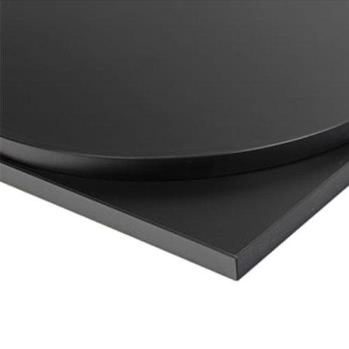 Taybon Laminate Table Top - Black Square - 500x500mm
