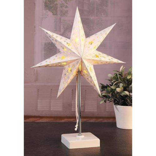 LED Paper Star Desk Lamp